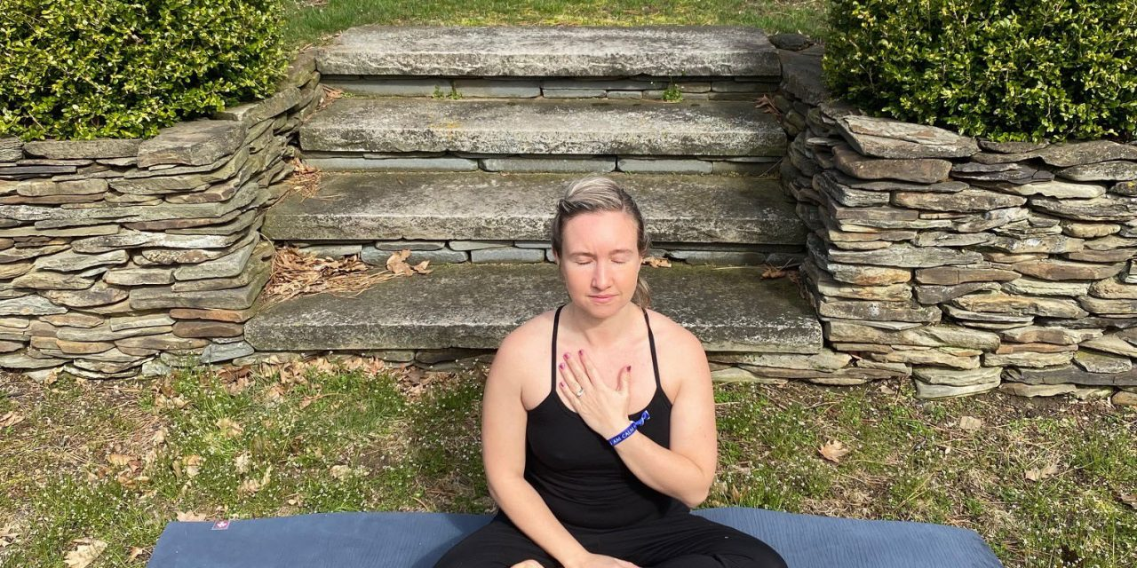 Setting An Intention, from Yoga to Hiking