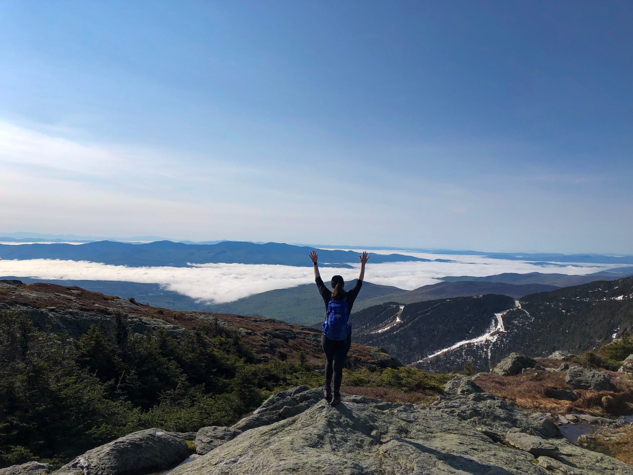 Mansfield and Camels Hump: Completing the VT5