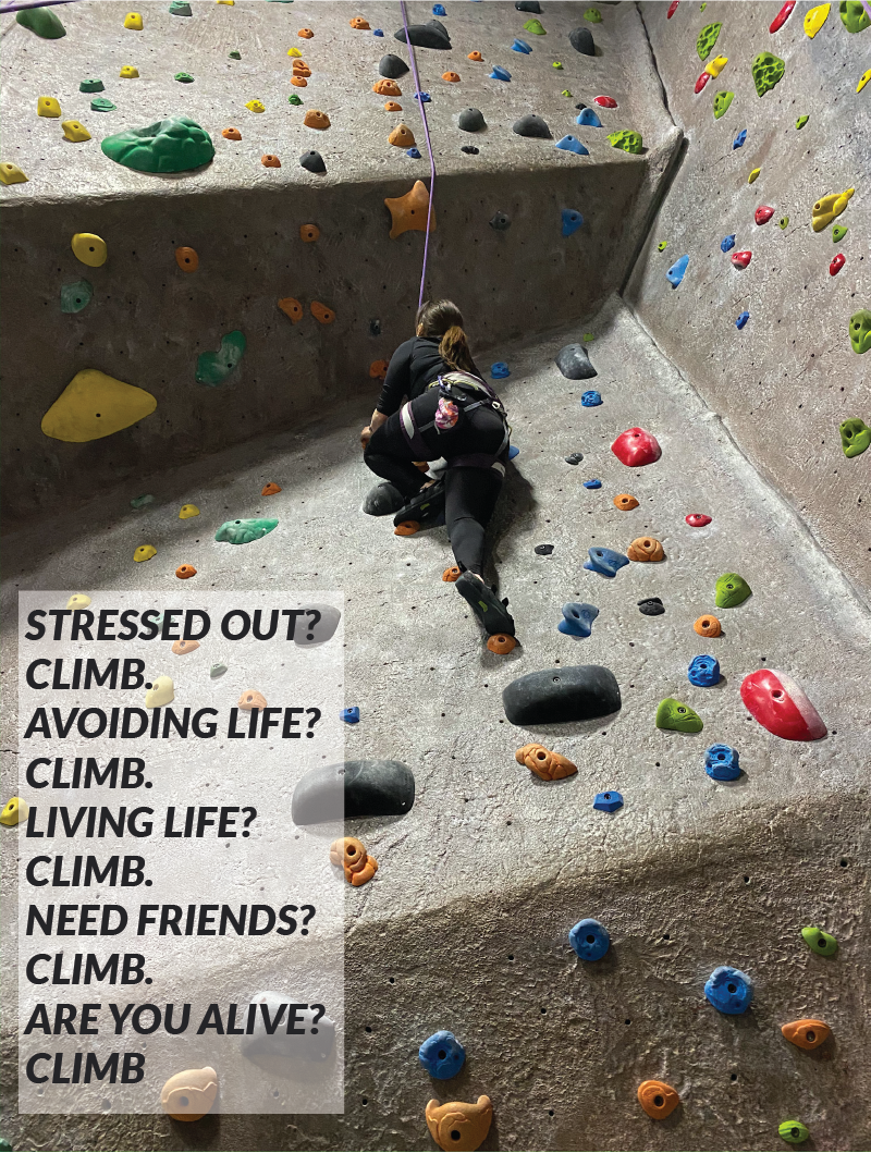 rock climbing quote